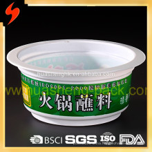 High Quality Wholesale 170ml disposable PP plastic salad bowl