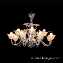 Contemporary Glass Pendant Light Glass Chandelier