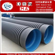 Tubos corrugados de pared doble HDPE