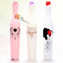 Spezielle Form Mode Flasche Regenschirm (3FB006A)