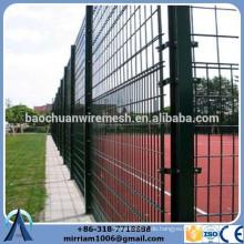 Pulver Beschichtung Draht Mesh Zaun Tennisplatz Zaun für die Handelsversicherung
