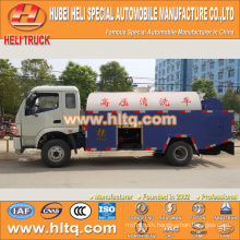 FOTON 4x2 5000L pressure washing truck 130hp engine cheap price