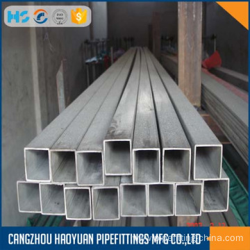 Square section steel tube thin-wall 1mm