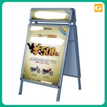 Venda quente & alta qualidade a4 poster acrílico frame