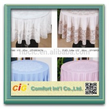 europe tablecloth/lace plastic tablecloths/plastic tablecloth by piece
