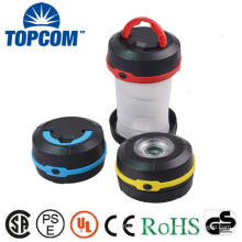 Mini Outdoor Collapsible Powerful LED Plastic Lamp Lantern