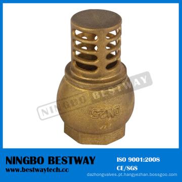 China Fábrica direta de bronze da válvula de verificação do pé (BW-C08)