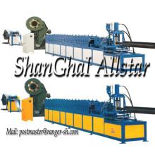Cremalheira vertical Máquina Perfiladeira com perfuração