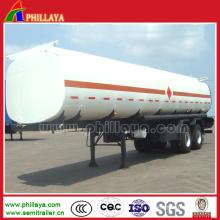 Camion en acier inoxydable de semi-remorque de réservoir d'eau