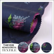 Qualidade superior Profissional fio macio tingido tecido flor jacquard