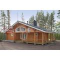 Сборный дом из дерева с высоким качеством KINGSPINE