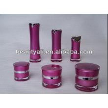 Bouteille en plastique acrylique cosmétique