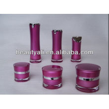 plastic acrylic cosmetic lotion bottle