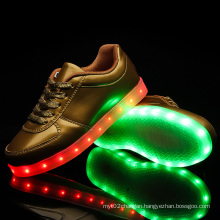 Selling Fashion Women Girl LED Light Shoes