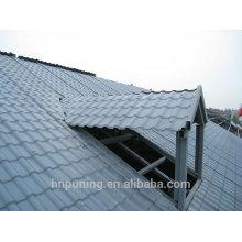 Clarabóia transparente pc folha de telhado ondulado