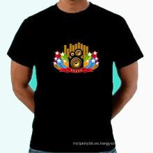 Cofre ilumina camiseta negra