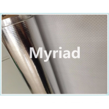 Metalized Aluminum PE woven fabric insulation film