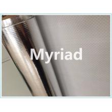Metalized Aluminum PE woven fabric insulation film
