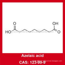 Prix de l'acide azélaïe de l'usine / acide azélaïque poudre / cas NO.123-99-9 / ingrédient cosmétique 99,9% Azelaic acid