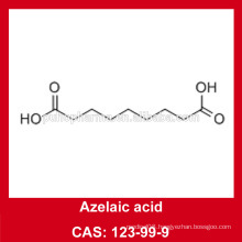 Azelaic acid price from factory/azelaic acid powder/cas NO.123-99-9/cosmetic ingredient 99.9% Azelaic acid