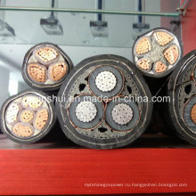 Прямой кабель из ПВХ ПВХ XLPE с завода