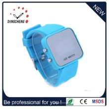 Personnalisez la montre de miroir de LED, montre bon marché, montre de fille (DC-356)