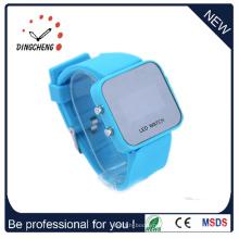 Настройка зеркала светодиодные часы, дешевые часы, девушка часы (ДК-356)
