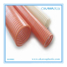 Flexibler Spiralverstärkter PVC-Lieferschlauch mit beliebiger Farbe