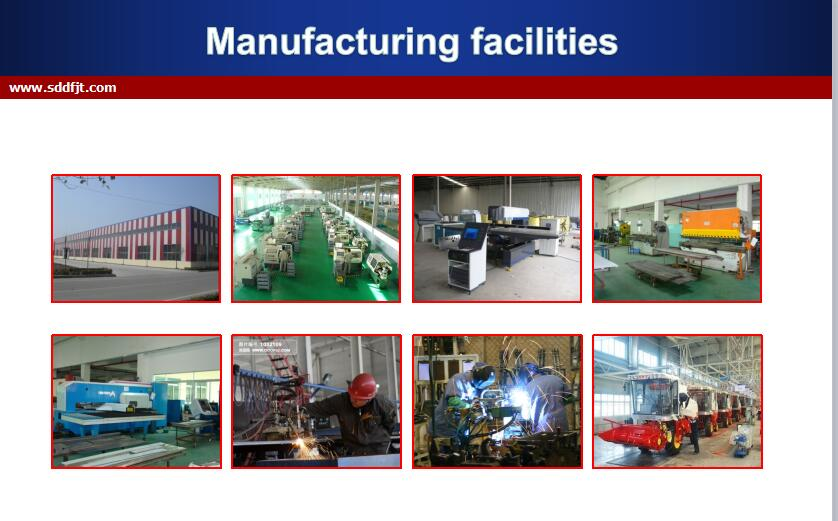 130hp Wheeled Tractor Manufacturing Facilities002