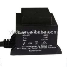 220V/12V halogen lamp transformer