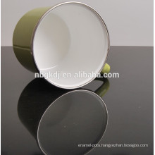 tube cup japan custom enamel coating mugs