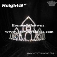 Crystal Castle Rhinestone Crowns