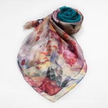 Elegante und modische Frauen Schal Schal Herbst Blau