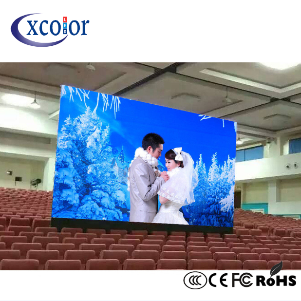 Energiebesparing indoor full color LED-display