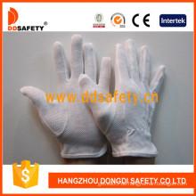 Ddsafety 100% Bleichmittel Baumwollhandschuhe mit PVC-Punkten (DCH112)