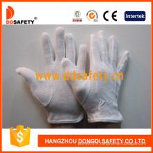 Ddsafety 100% gants de sécurité en coton blanchi avec des points de PVC (DCH112)