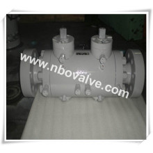 Flanged Double Block Double Bleed Ball Valve (DQ41H)
