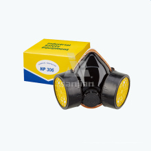 Air Fed Industrial Gas Halbmaske mit Atmung Dual Patrone Atemschutzmaske