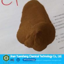 Lignosulfonate de calcium chimique de Jinan Yuansheng pour le contrôle de la poussière