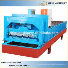 Aluminium Metall verglasten Dachziegel Roll Forming Machine chinesischen Lieferanten