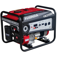 2016 New Type Home Use Small Portable Petrol 2kVA Gasoline Generator with Electric Start and Battery (FB2500E)