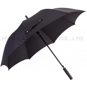 Big Size Auto Open Mens Straight Umbrella