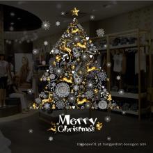 Feliz Natal Janela Adere Árvore Removível Natal Adesivo De Parede