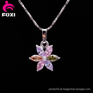 Mais recente design de moda flor pingente encantos