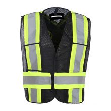 Жилет безопасности повышенной видимости с карманами