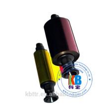 Fita de cor completa Evolis R3011 5 painéis ymcko 200 imagens Dualys Pebble Printer