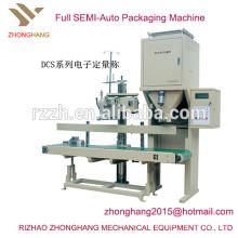DCS tipo semiautomática máquina de embalaje de arroz