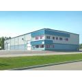 Edificio de taller de estructura de acero ligero de marco de portal (KXD-SSW1415)