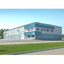 Здание мастерской стальной конструкции каркаса портала легкое (KXD-SSW1415)