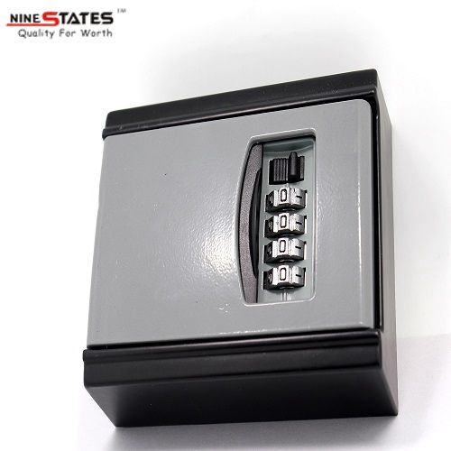 Portable 4-digit Combination Key Storage Lock Box